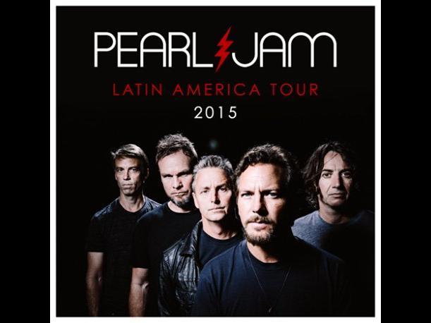 Pearl Jam en México! – Anuncian su gira Latinoamérica 2015