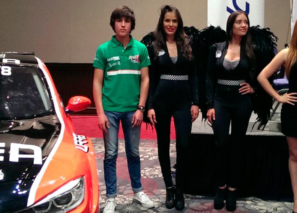 Salvador de Alba Jr. listo para debutar en la Súper V8 de Súper Copa Telcel