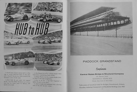 1965 Indy 500 race programme 18