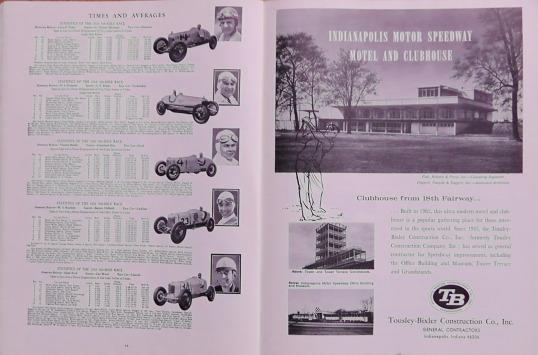 1965 Indy 500 race programme 7