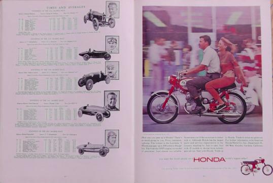 1965 Indy 500 race programme 8