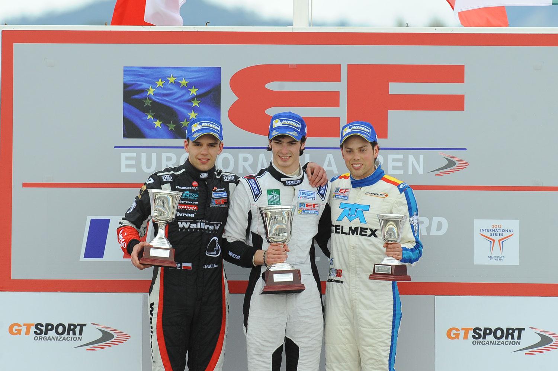 Diego Menchaca, a Estoril por su tercer compromiso del año en F3 EuroFórmula