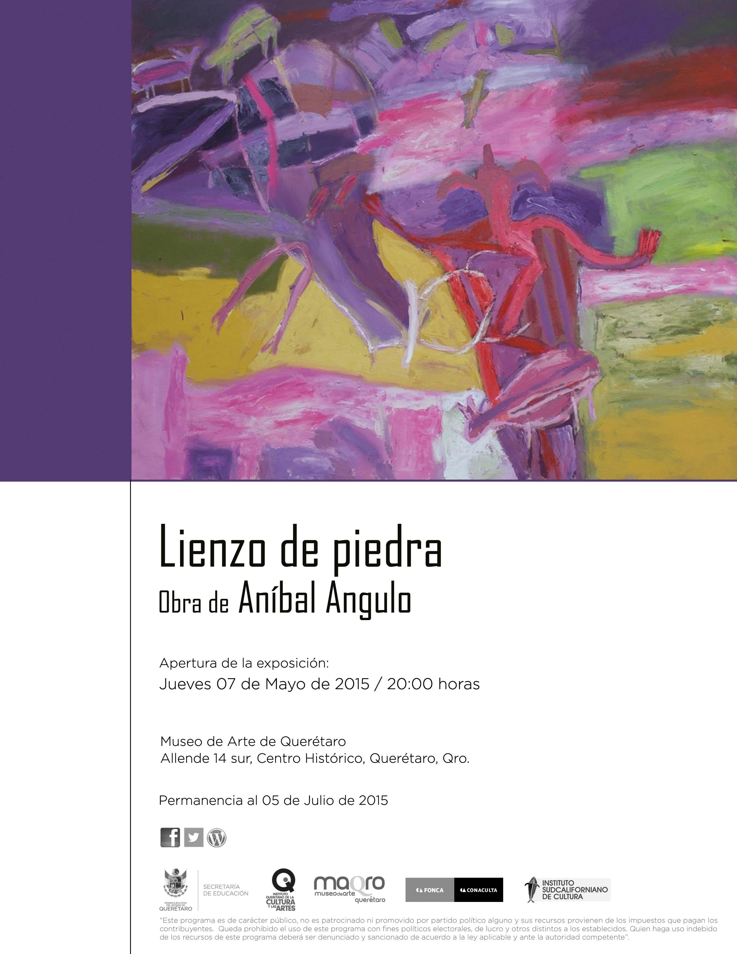 """""""Lienzo de piedra"""" Obra de Aníbal Angulo en el MAQRO"""