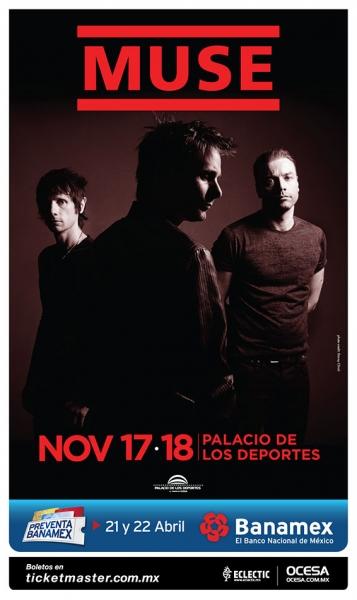 MUSE anuncia nueva fecha en la Ciudad de México