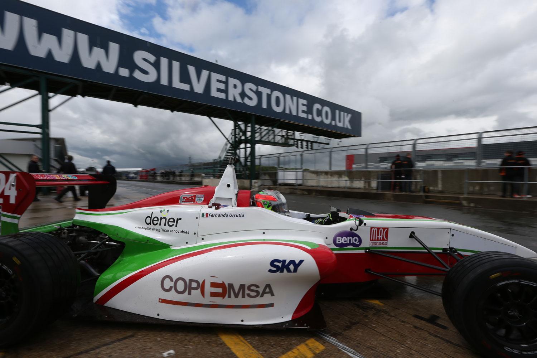 Provechosas prácticas libres para Fernando Urrutia en Silverstone GP