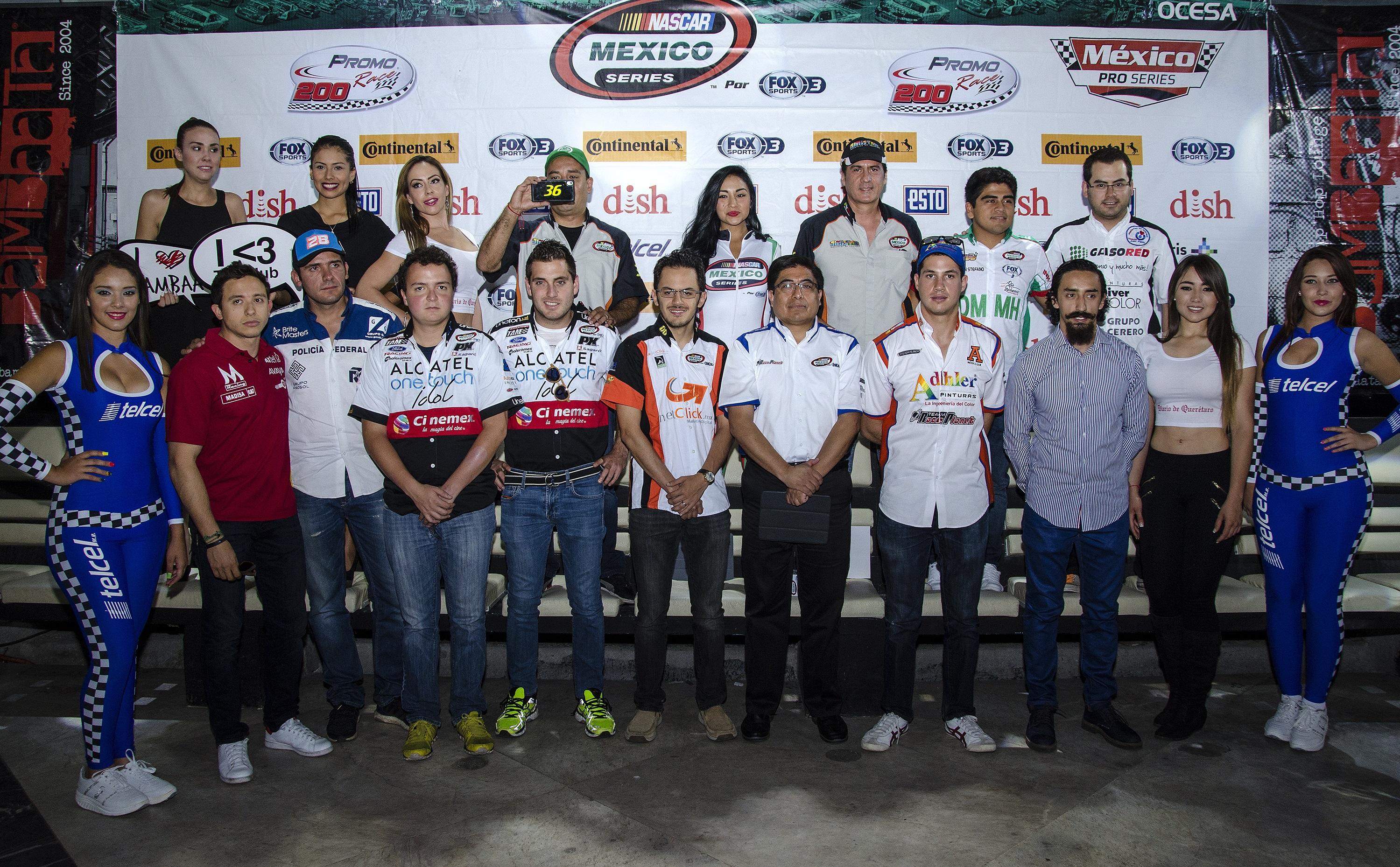 Querétaro recibe a la NASCAR México Series