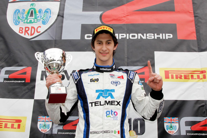 Rodrigo Fonseca, a Silverstone GP por el liderato de BRDC Fórmula 4 Británica