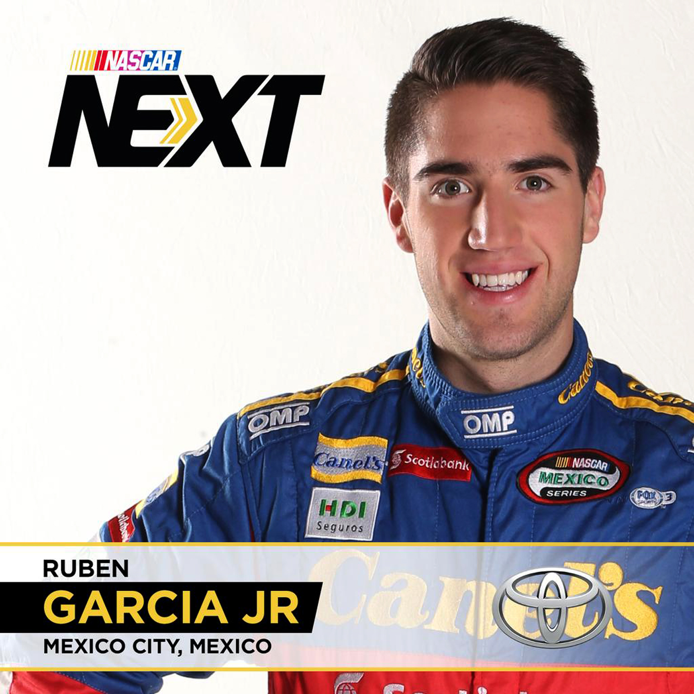 Rubén García Jr. es Nominado al programa de jóvenes pilotos NASCAR Next