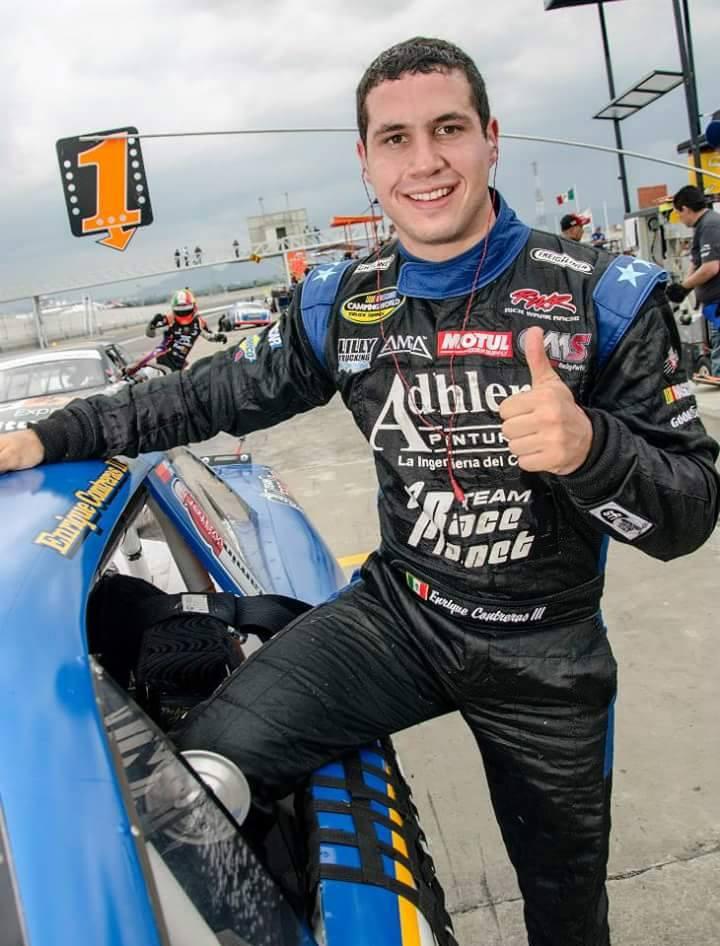 Enrique Contreras III estaría en el Desafio de NASCAR México