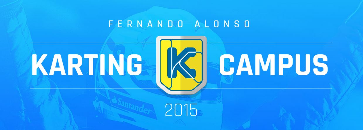 Fernando Alonso Karting Campus 2015