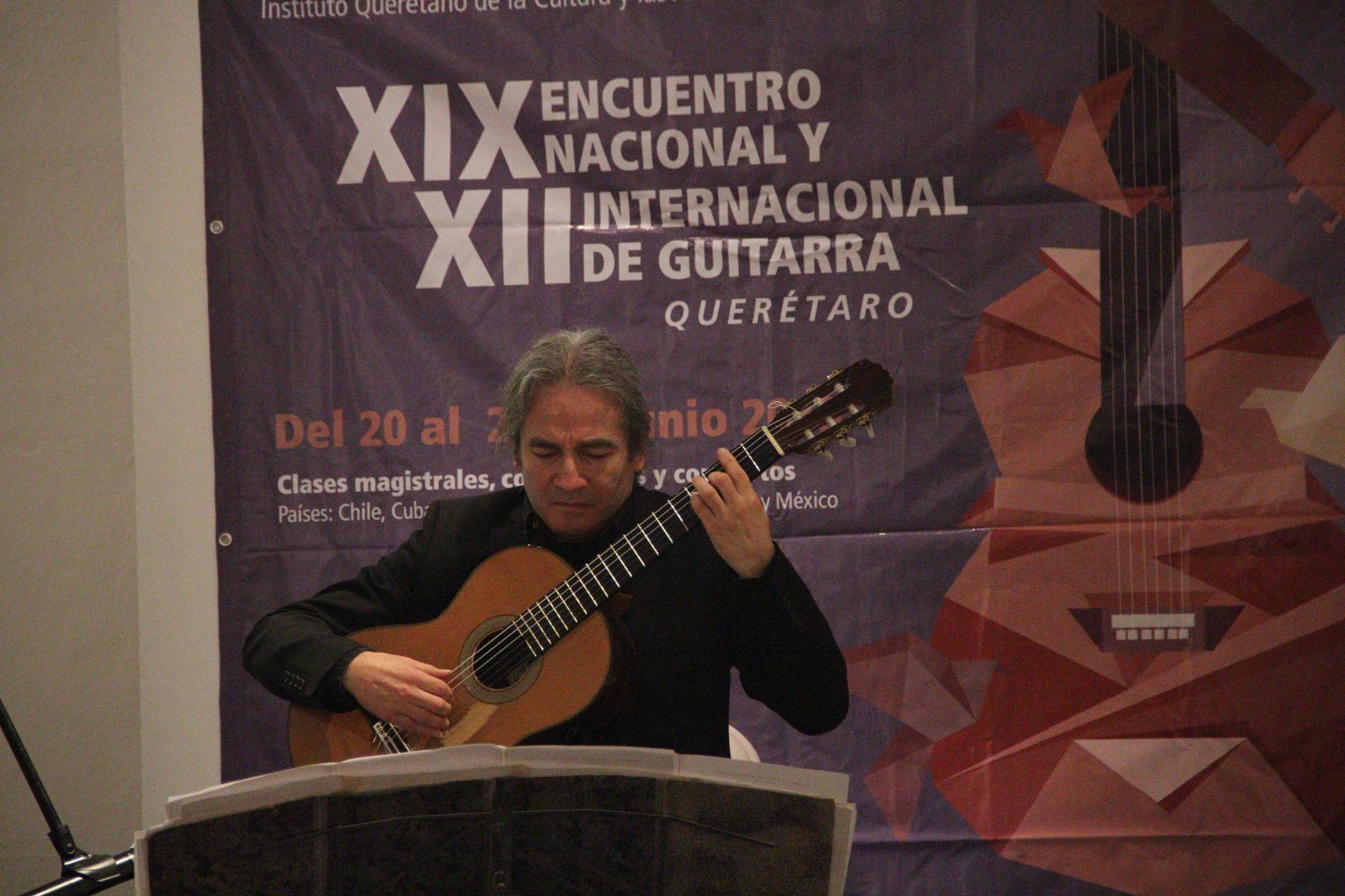 Inicia el XIX Encuentro Nacional y XII Internacional de Guitarra Querétaro 2015