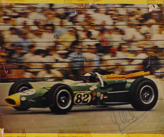 Jim Clark wins at Indy: photo album/4