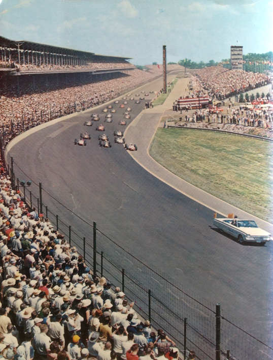 Jim Clark's Indy 500 – the vital statistics