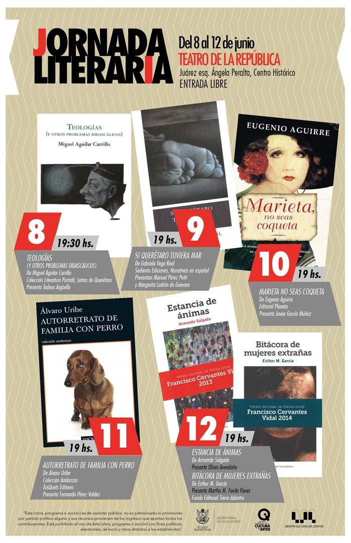 Jornada Literaria en el Teatro de la República