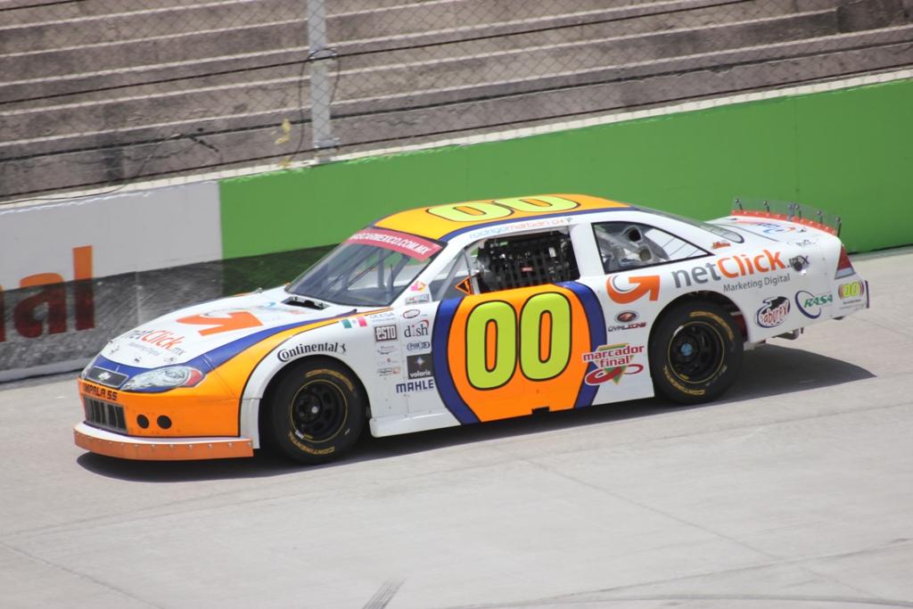 Marbán busca mantenerse en la pelea por el Top Ten en NASCAR México