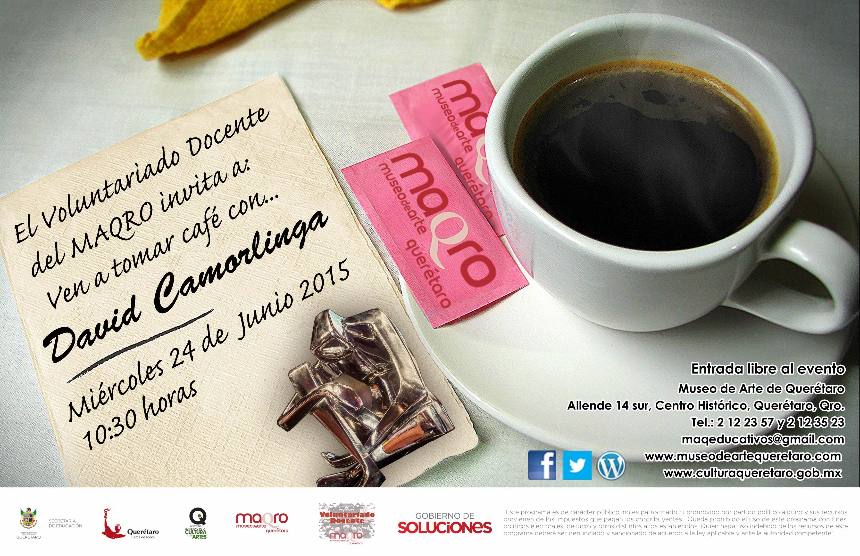 Ven a tomar café con… David Camorlinga