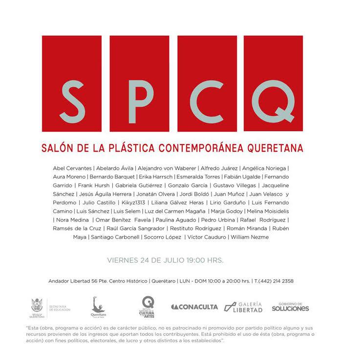 Apertura del Salón de la Plástica Contemporánea Queretana