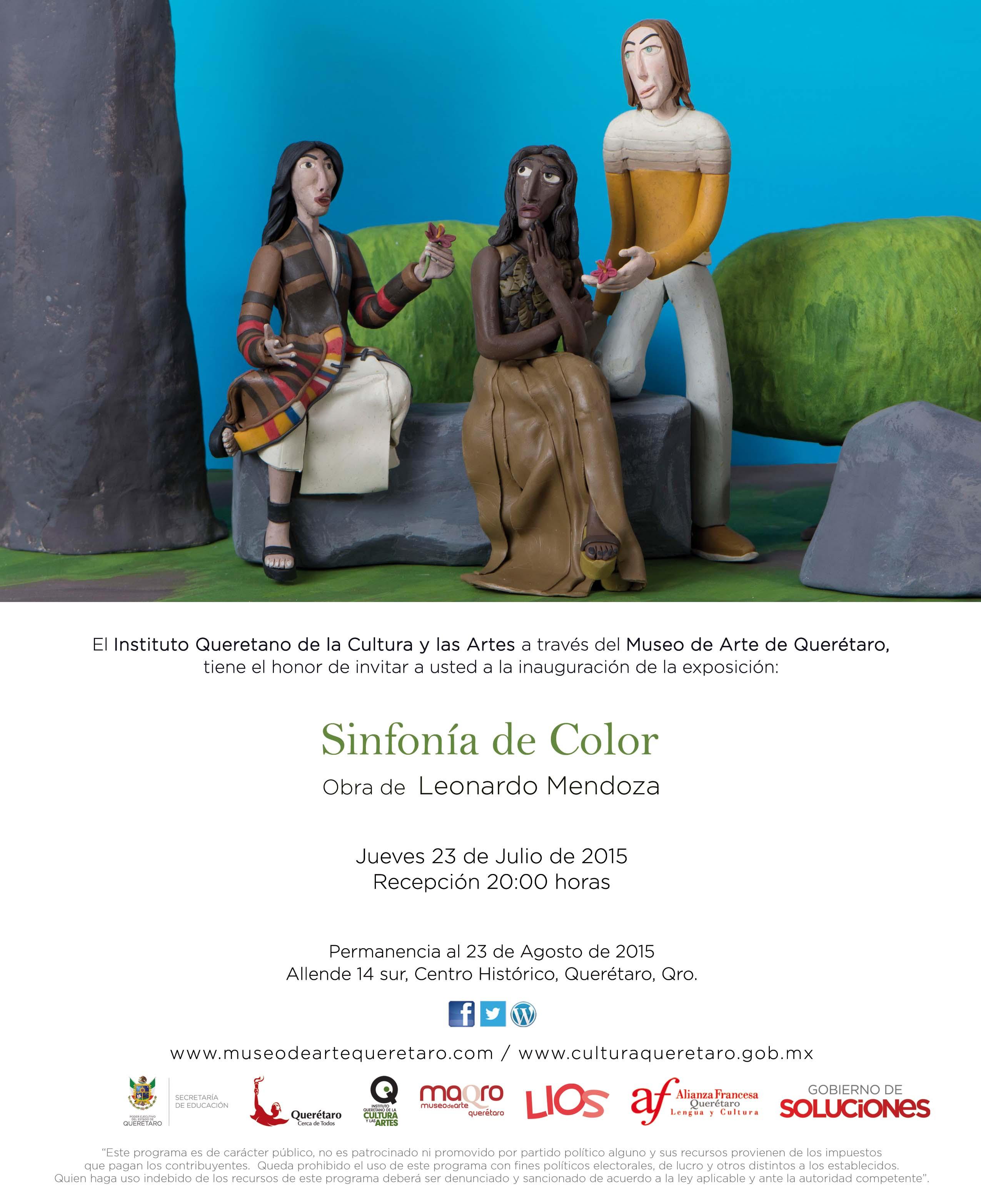 Sinfonía de Color – Obra de Leonardo Mendoza