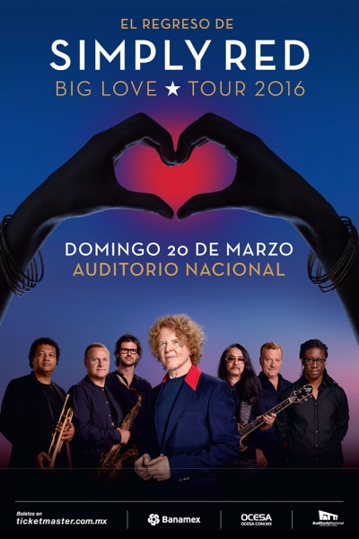 Simply Red celebrará su 30 aniversario en México