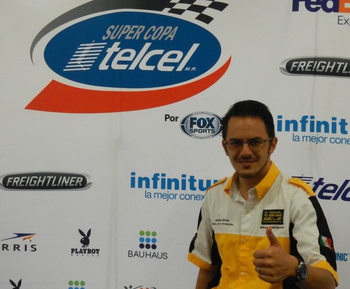 Rodrigo Marbán debutará en la Súper Copa Telcel en Querétaro, en la categoría Súper V8