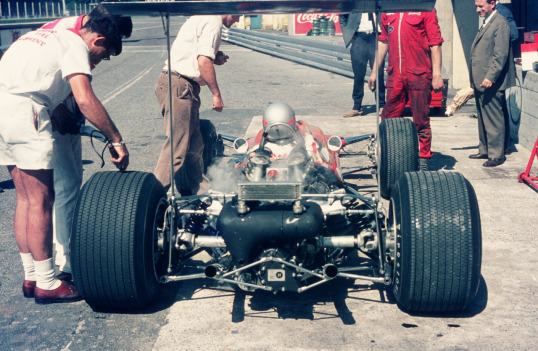 With Mario at Monza 68 - 2