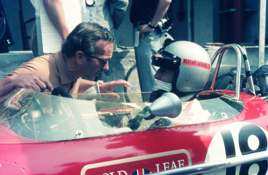 With Mario at Monza '68