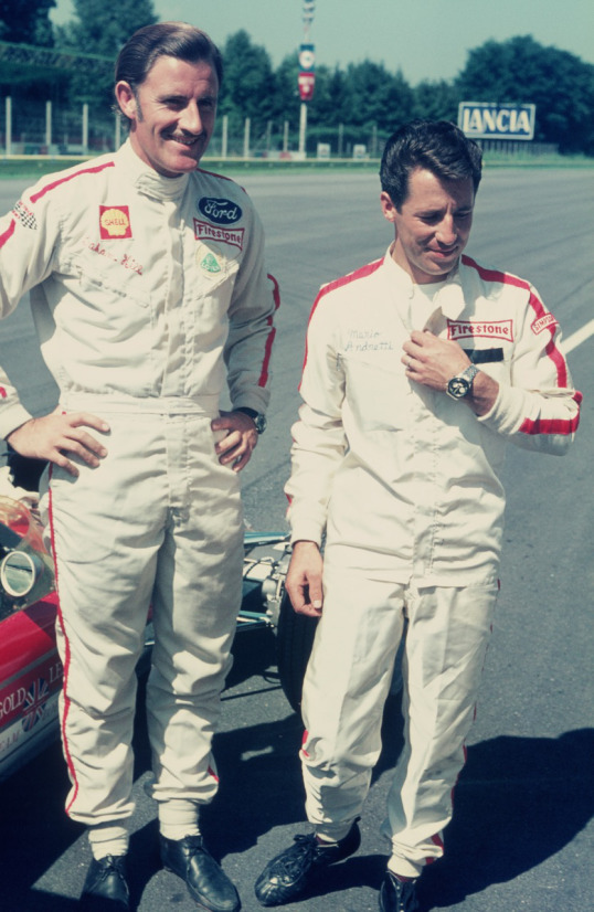 With Mario at Monza 68