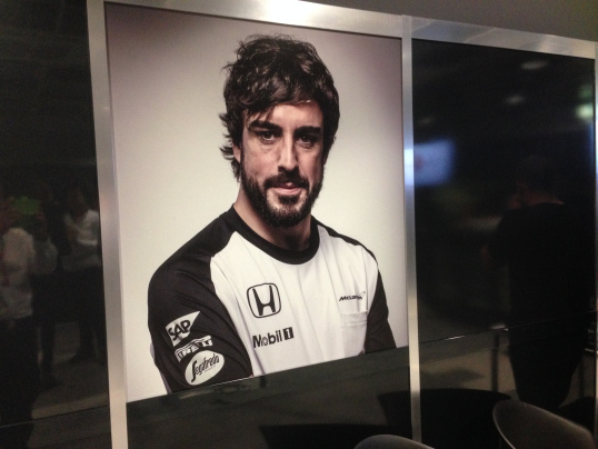 Fernando's 250th GP appearance