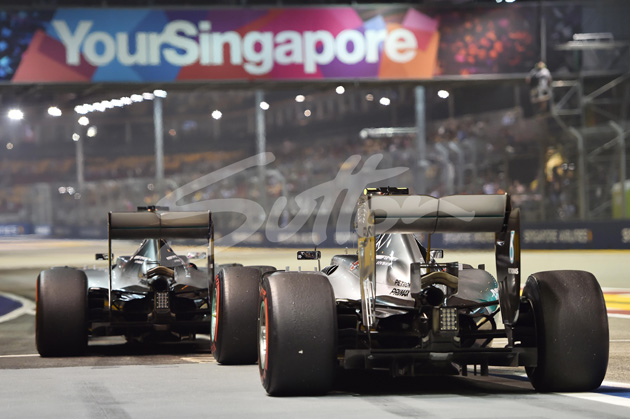 at Formula One World Championship, Rd13, Singapore Grand Prix, Practice, Marina Bay Street Circuit, Singapore, Friday 18 September 2015.
