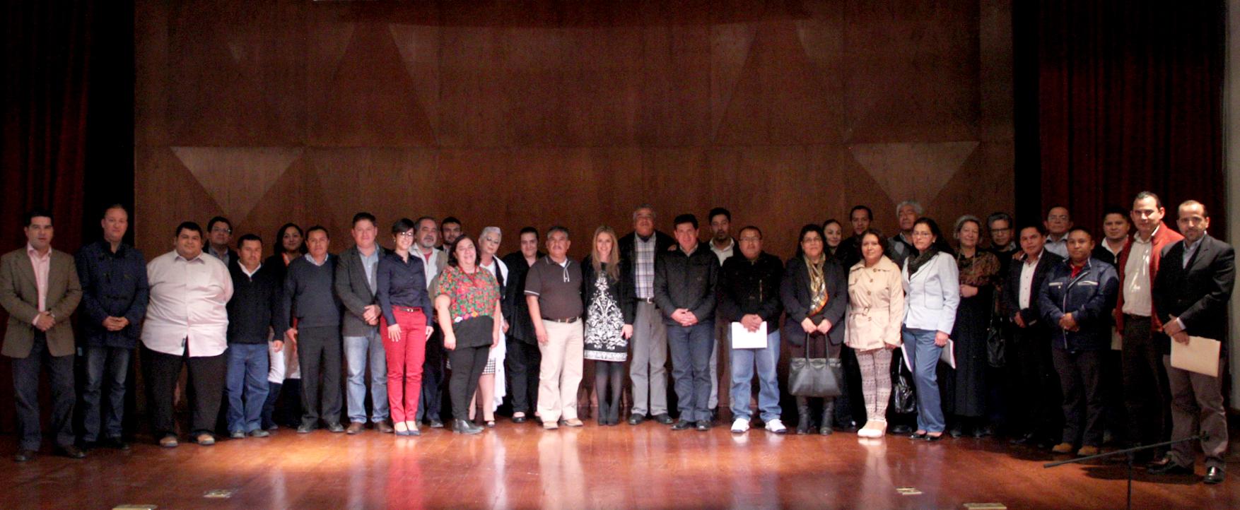 Realiza IQCA la 1ª Reunión de Autoridades Municipales y el Sector Cultural del Estado de Querétaro
