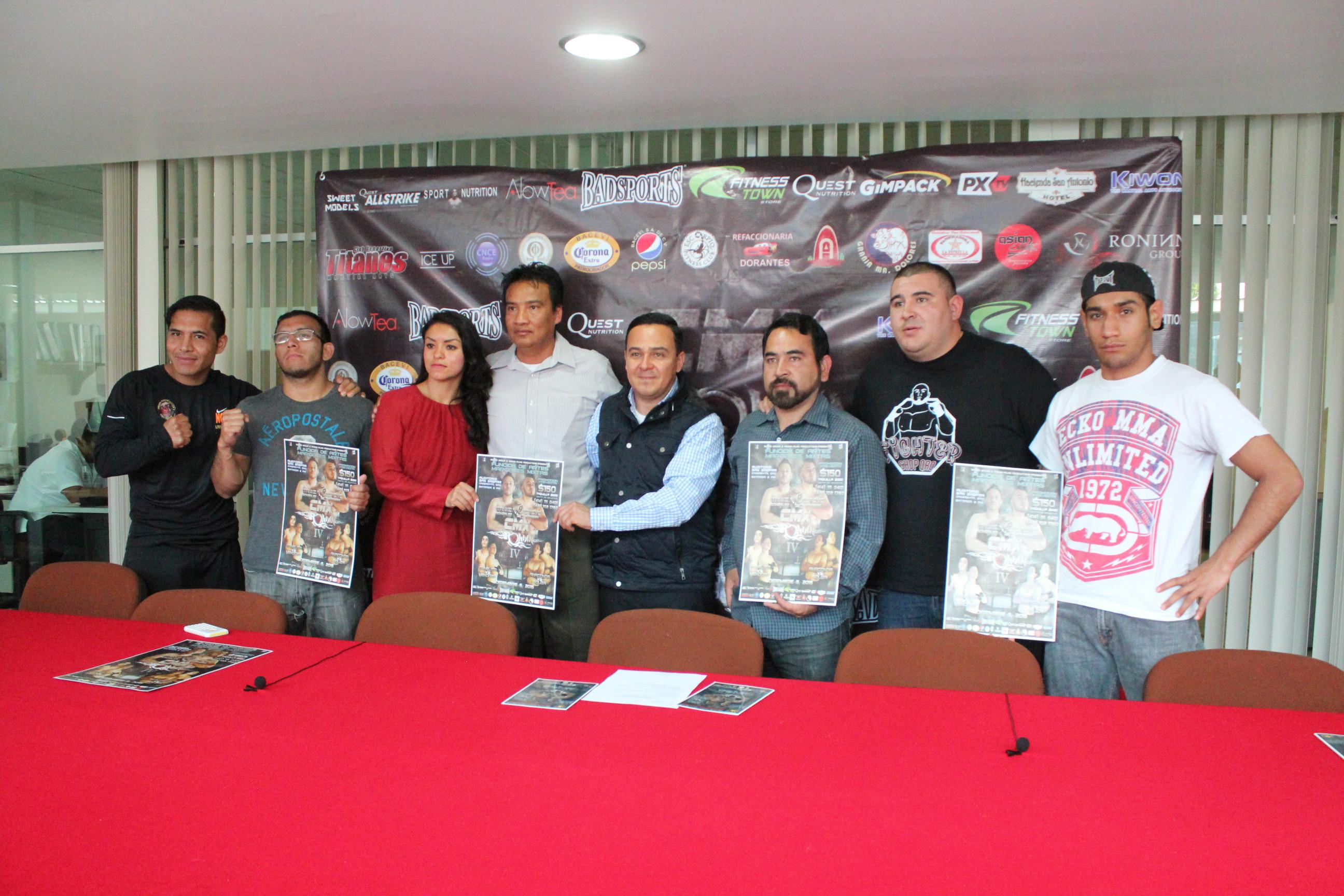 Cadereyta presenta Función Internacional de Artes Marciales Mixtas