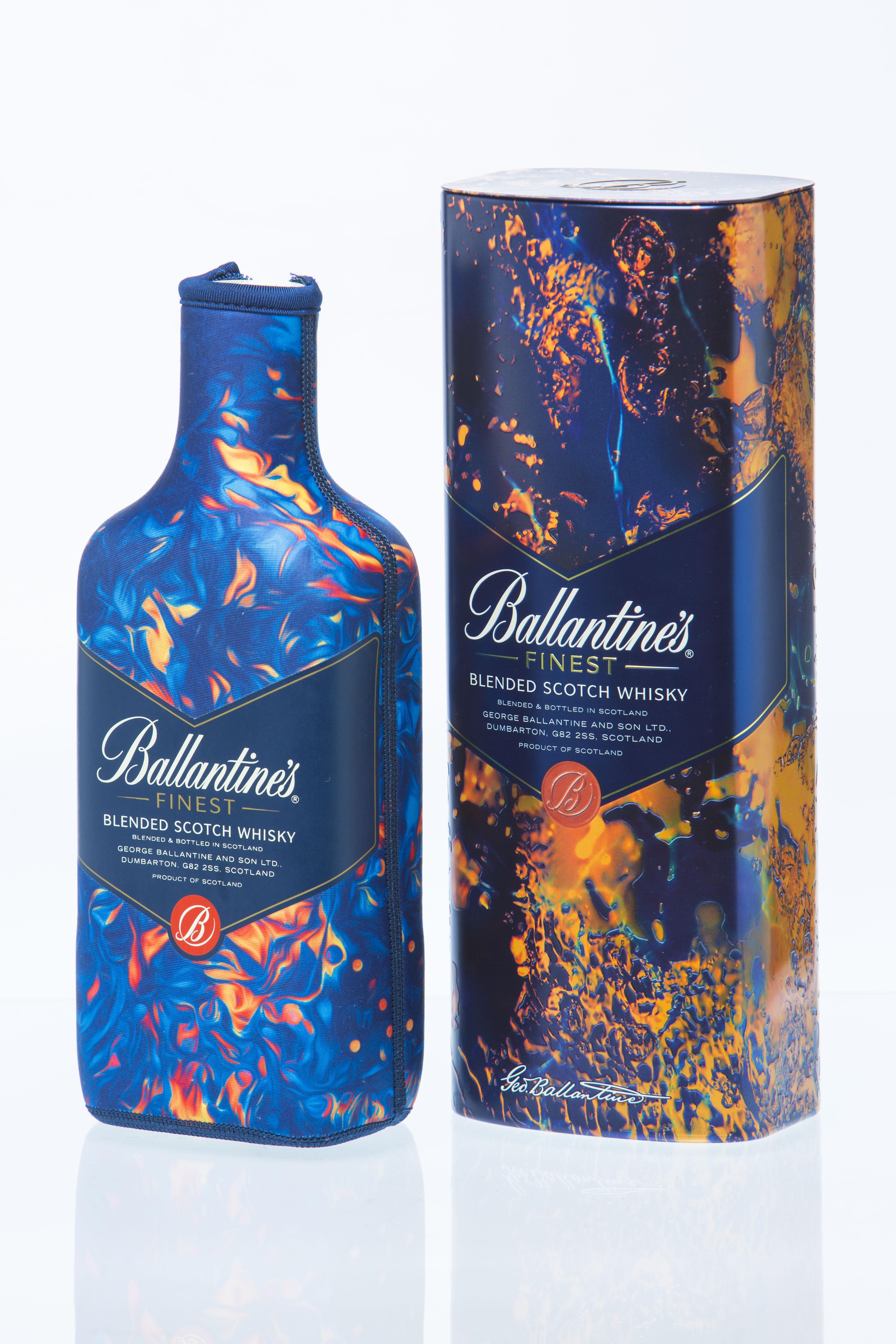 El artista Leif Podhajsky colabora con Ballantine's para la edición especial de esta temporada