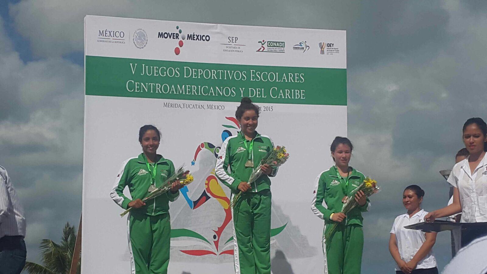 Triunfan Triatletas queretanas en los Juegos Deportivos Escolares Centroamericanos y del Caribe 2015