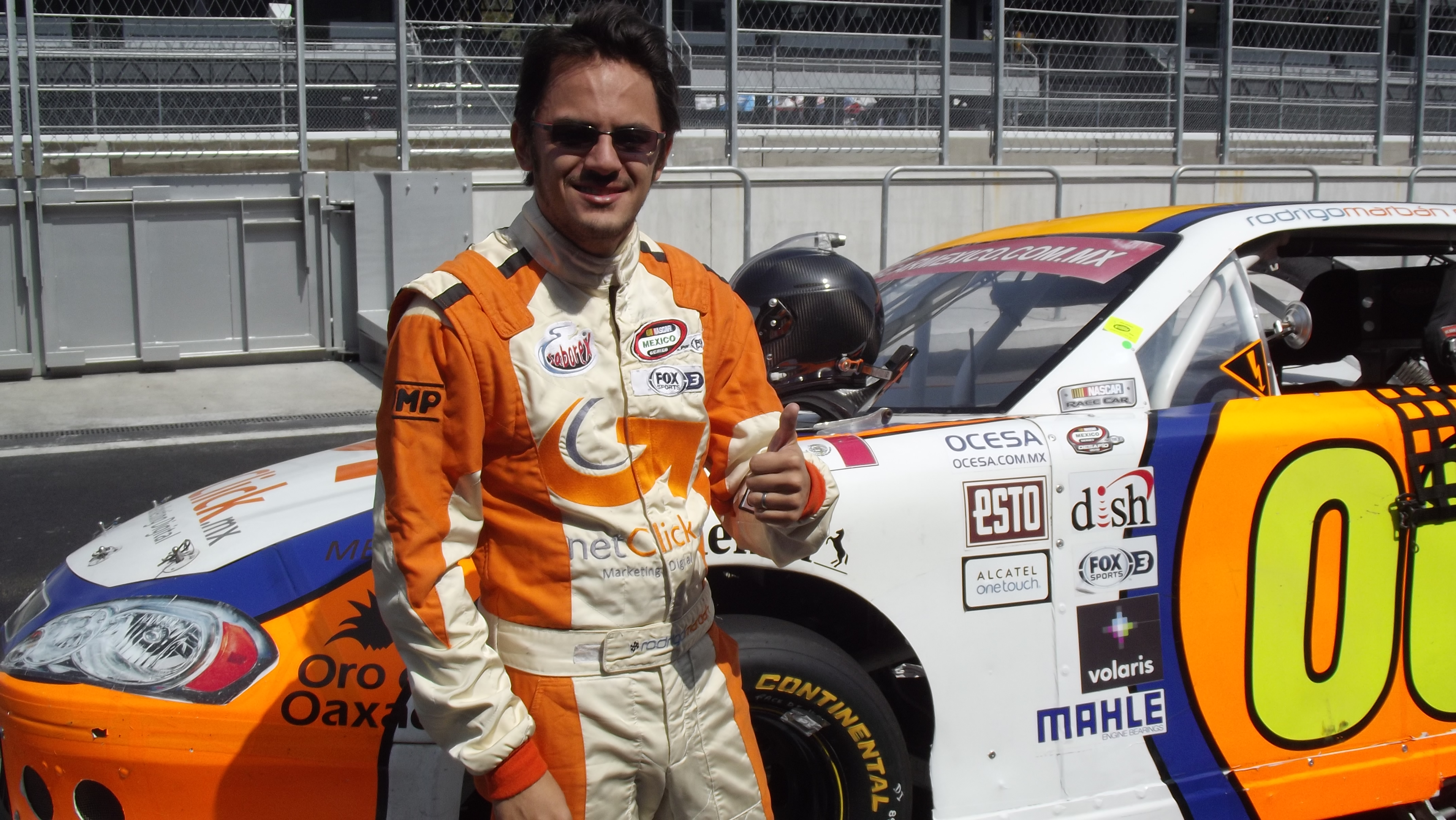 "Rodrigo Marbán listo para la ""Gran Final"" de NASCAR México en Tuxtla"