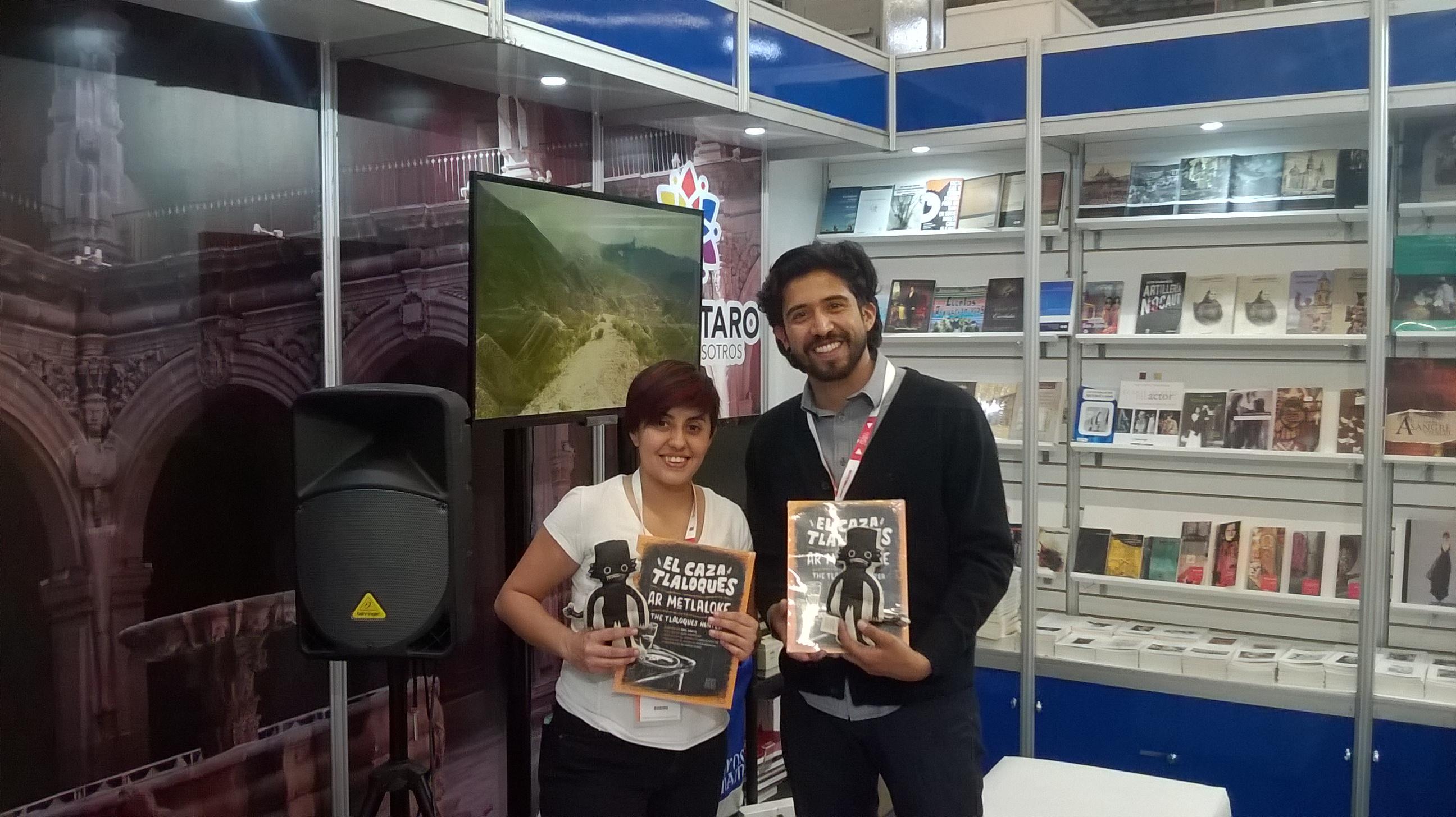 Participa Querétaro en la Feria Internacional del Libro de Guadalajara