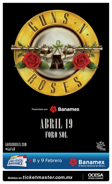 ¡Guns N' Roses en México!