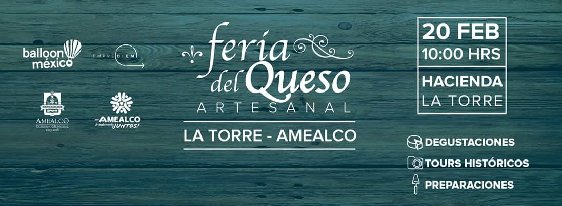 Feria del Queso Artesanal en Amealco