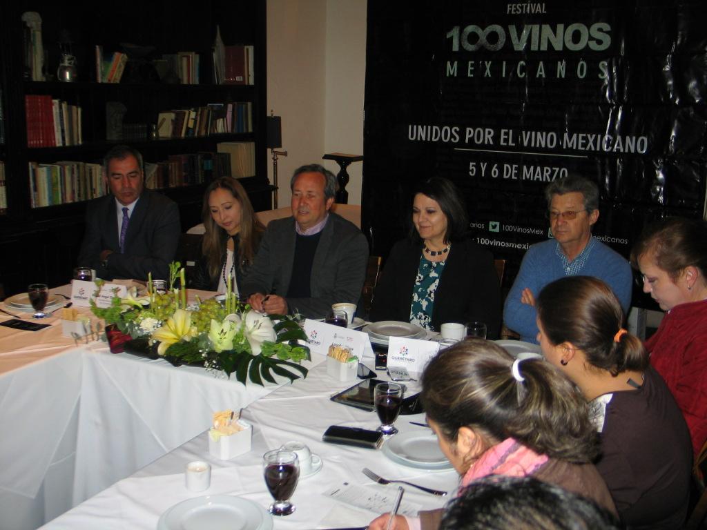 Presentan Festival 100 Vinos Mexicanos
