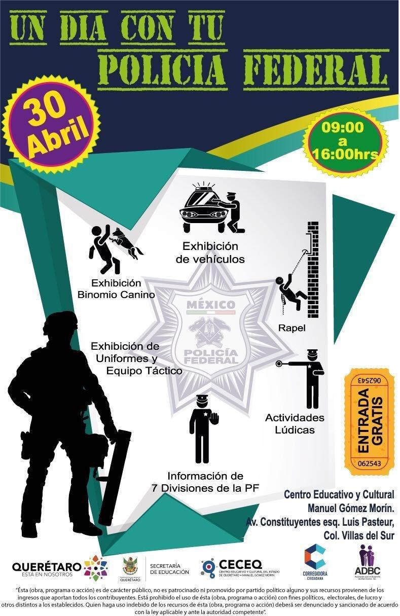 Un día con tu Policía Federal – 30 de Abril