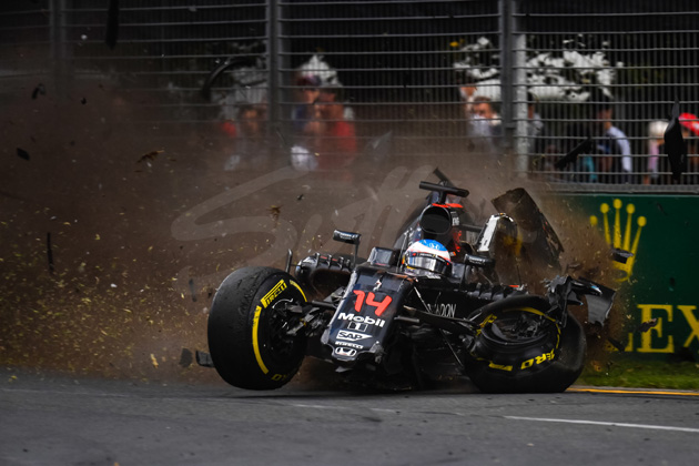 Life Through a Lens: The Fernando Alonso crash