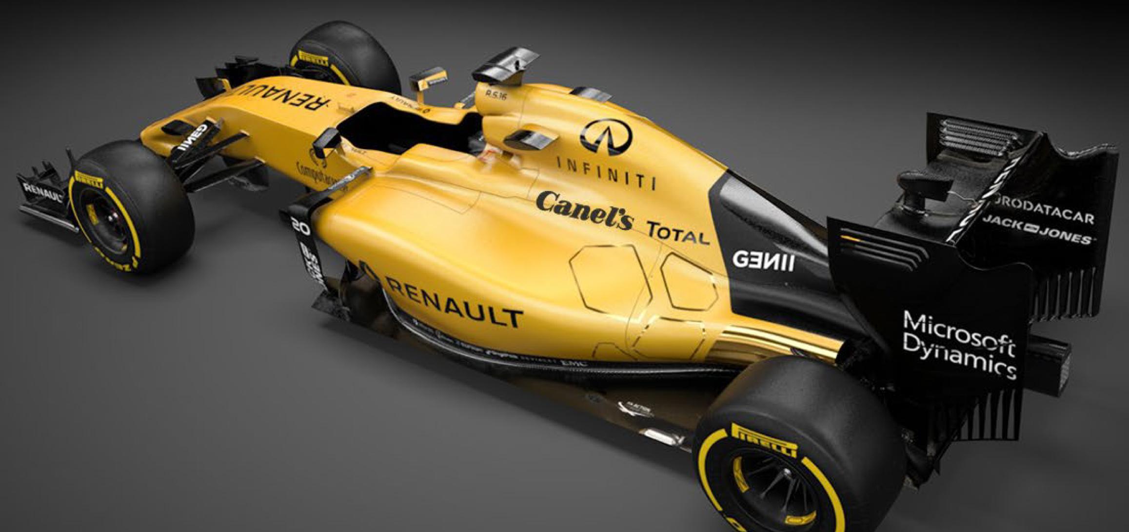 Renault F1 presenta a Canel´s como su nuevo patrocinador