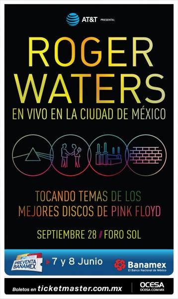 Roger Waters anuncia nueva y última fecha en México