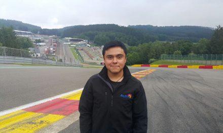 Antonio Ledesma se reporta listo para SPA-Francorchamps