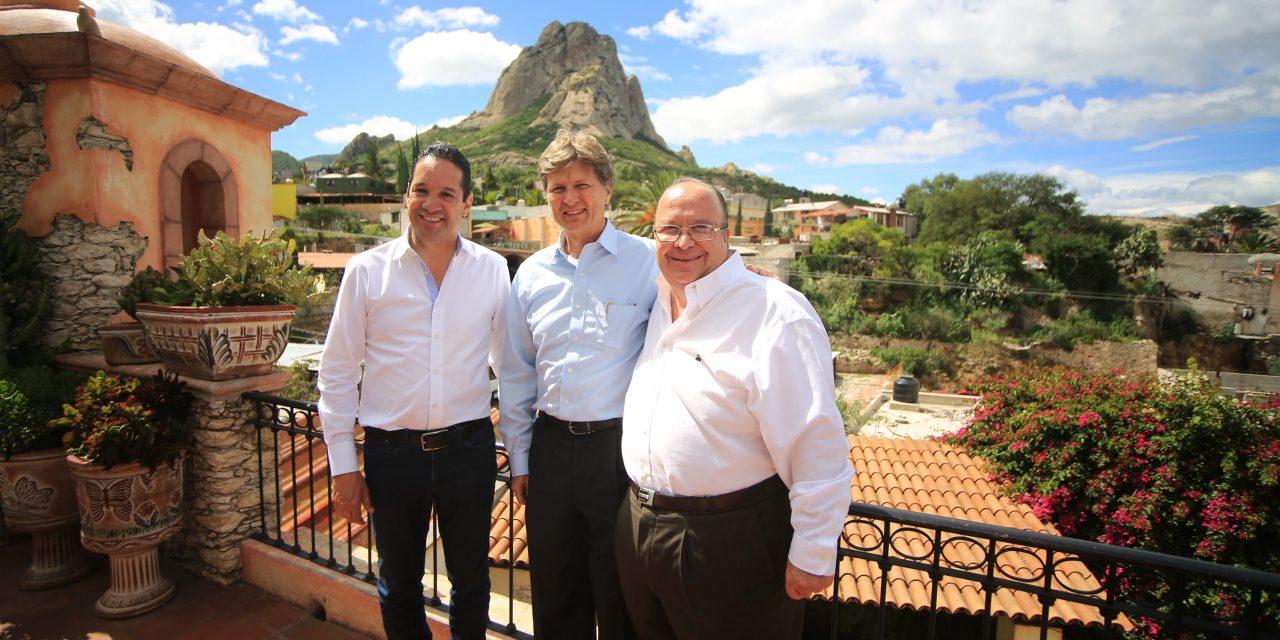 El Gobernador y el Secretario de Turismo realizan gira de trabajo por la Ruta del Arte, Queso y Vino