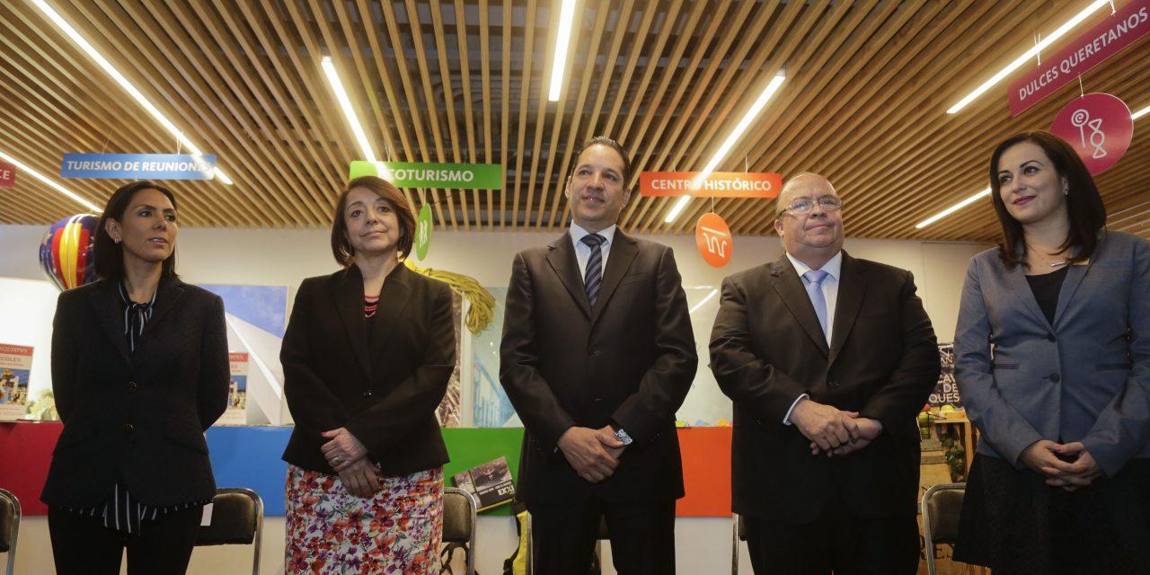 Inaugura el Gobernador del Estado la exposición Querétaro Experiencias sin Límite