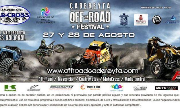 Se presenta en Querétaro la 4a fecha del Campeonato CAR CROSS