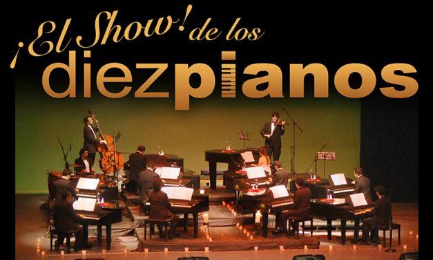Regresa a Querétaro el Show de los Diez Pianos!