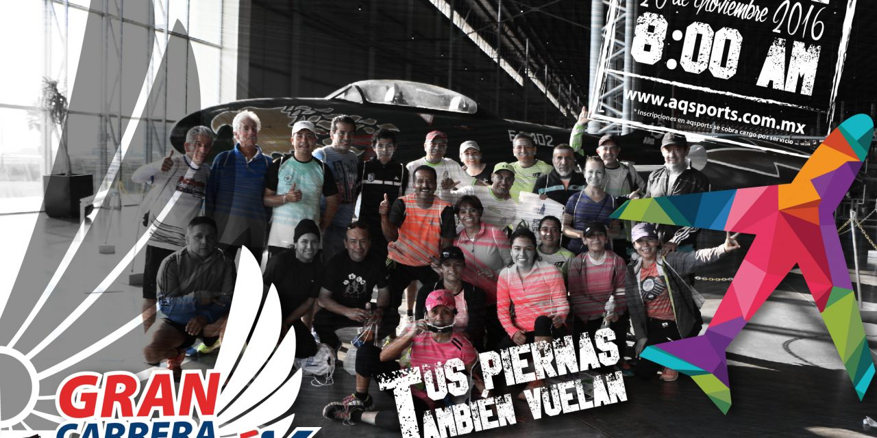 Presentan 6ta edición de la Gran Carrera UNAQ