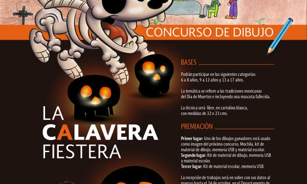 """La Calavera Fiestera"" – Concurso de dibujo"