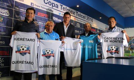 Presentan Copa Telmex con sede en Querétaro